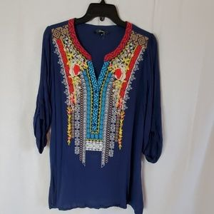 Cute embroidered top